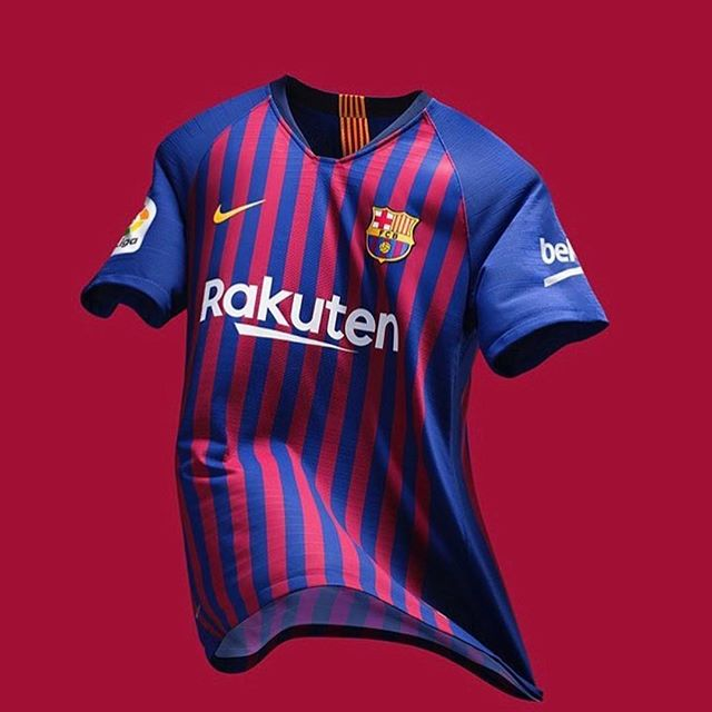 Barcelona Home Jersey 2018/19. Your Thoughts?