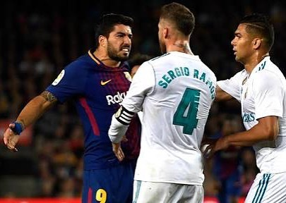 El Classico. Barcelona 2 Real Madrid 2. Izzet and Pride was still at Stake. How was it