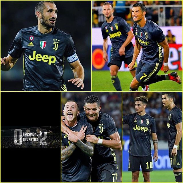 Frezinone 0 Juventus 2. Tough away outing but Ronaldo and Berneseschi ensured 5 wins out of 5 late in the game. Now we wait for Napoli. Forza Juve