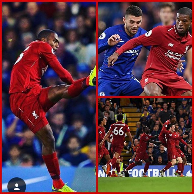 Chelsea 1 Liverpool 1. Sturidge strike saves a point and we still remain undefeated. #0018matchoftheday #chelseavsliverpool #lfc #liverpool #ynwa #epl #chelseafc