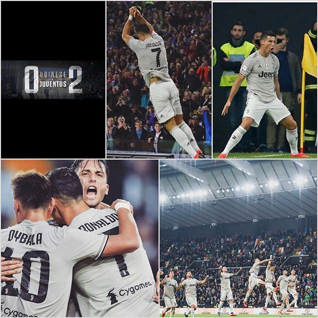 Udinese 0 Juventus 2. Great display and goals from Bentancur and Ronaldo secured the 3 points. Forza Juve#juve #juventus #cr7 #ronaldo #udinesivsjuventus #bianconeri #seriea #serieatim