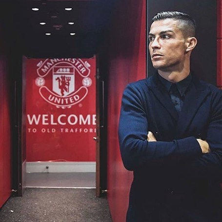 Calm before the Storm. CR7 returns to Old Trafford. Forza Juve