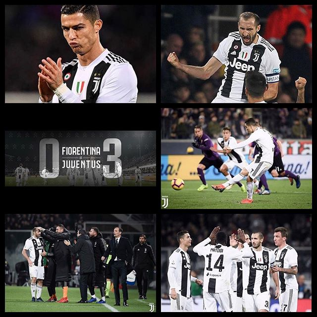 Good win on Saturday. Fiorentina 0 Juventus 3. Goals from Bentancur,Chielini and Ronaldo again. Inter drew 2-2 against Roma and we wait for the Napoli result tonight. Forza Juve. Lekker December and it's Juve vs Inter on Friday Night #fiorentinavsjuventus #juve #forzajuve #juvefans #bianconeri #seriea #serieatim