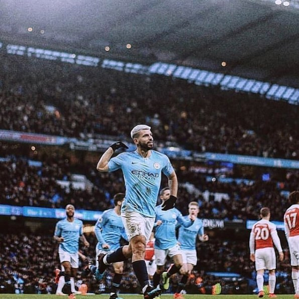 Citeh keep up the pressure and Arsenal do is no favors. Citeh 3 Arsenal 1