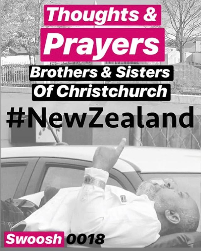 ?? Our Thoughts and Prayers to the family's and victims of this Brutal massacre today. Strength to the people of New Zealand on this Dark Day #newzealand #chrustchurch #standtogether