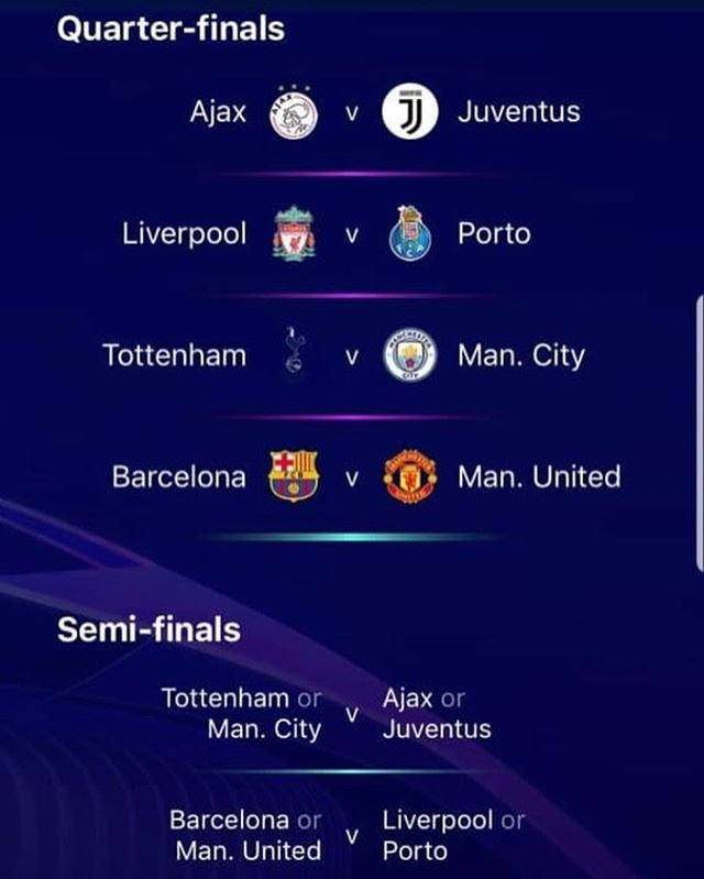 Thoughts on the Champions League Draw . As a Juve And Liverpool Man Il take it. MANCS going to Camp Nou. We all set