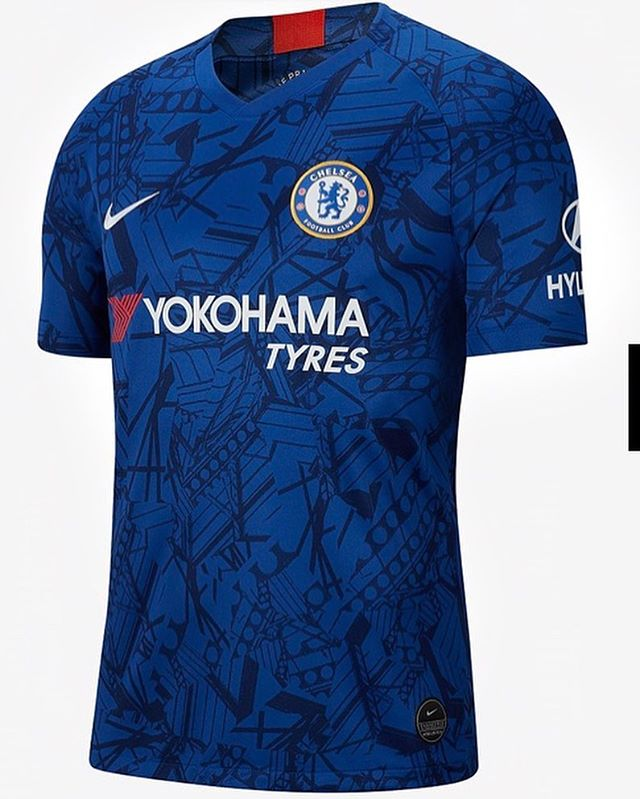 Chelsea 2019/20 Home Jersey released#chelsea #chelseahomejersey #newchelseakit #nike #nikefootball #chelsea #chelseafc #chelseafans #epl