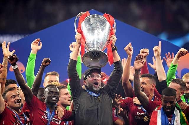 Champions of Europe. Liverpool 2 Spurs 0. Watta Thing. We needed this