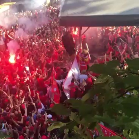 This videos gone viral with the Liverpool Fans.Must put it