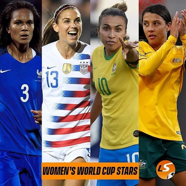 The Women's World Cup starts. These French birds not bad heh. ?. Who are you supporting