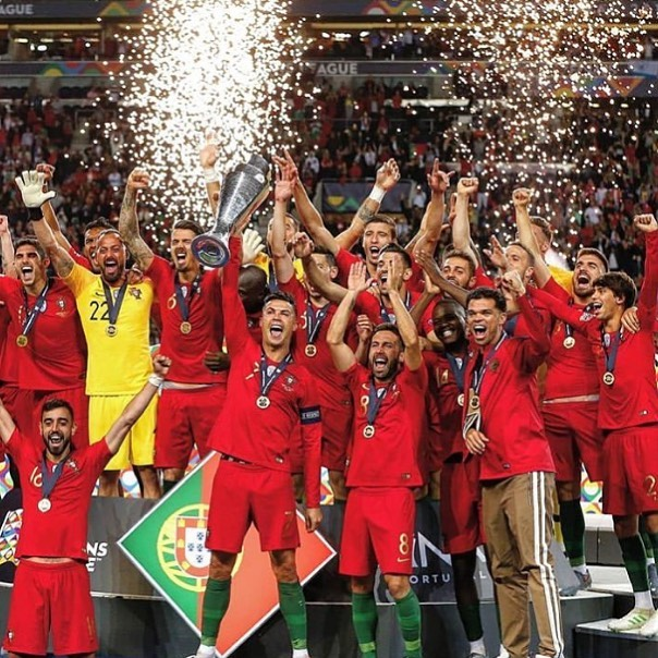Portugal are crowned UEFA Nations League Champions after beating the Netherlands 1-0. #portugal #portugalchampions #netherlands #holland #uefa #uefanationsleague #dutch #portugalvsnetherlands #ronaldo
