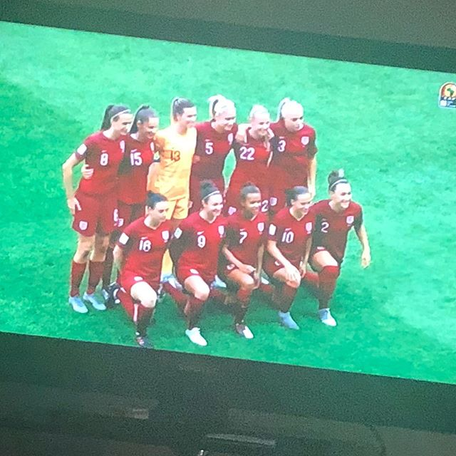 Watching Pheeel Neville's Lionesses vs the Argies. Top game. I'm loving the women's World Cup#fifawomensworldcup #lionesses #england #argentina #englandvsargentina #womensworldcup