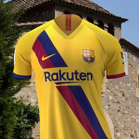 Barcelona 2019/20 Away Jersey#barcelona #barcelonaawayjersey #nike #nikefootball #barcelonagram