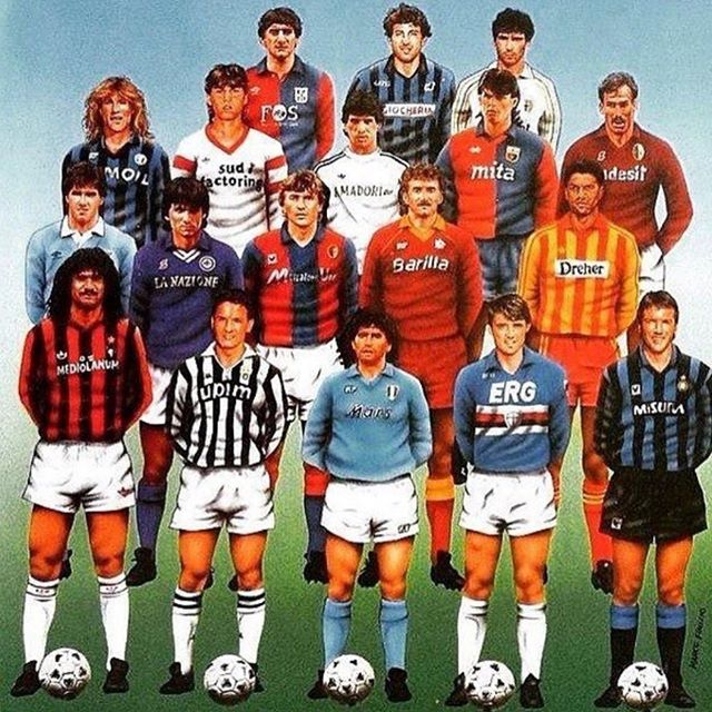 If you a Serie A and Italian Football fundi. Name these Legends #seriea #legends