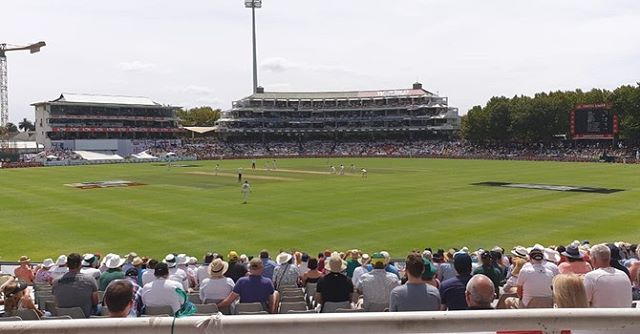 Soaking up the Test Cricket at Newlands. South Africa vs England by @moebhamjee123