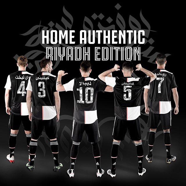 How's the Juve Home kit Riyadh Edition
