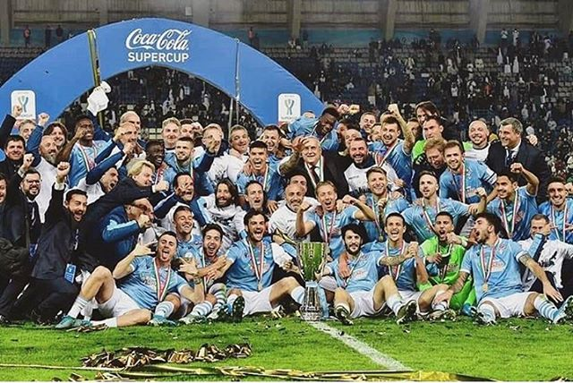 Lazio 3 Juventus 1. Lazio beat us again and win the Italian Super Cup