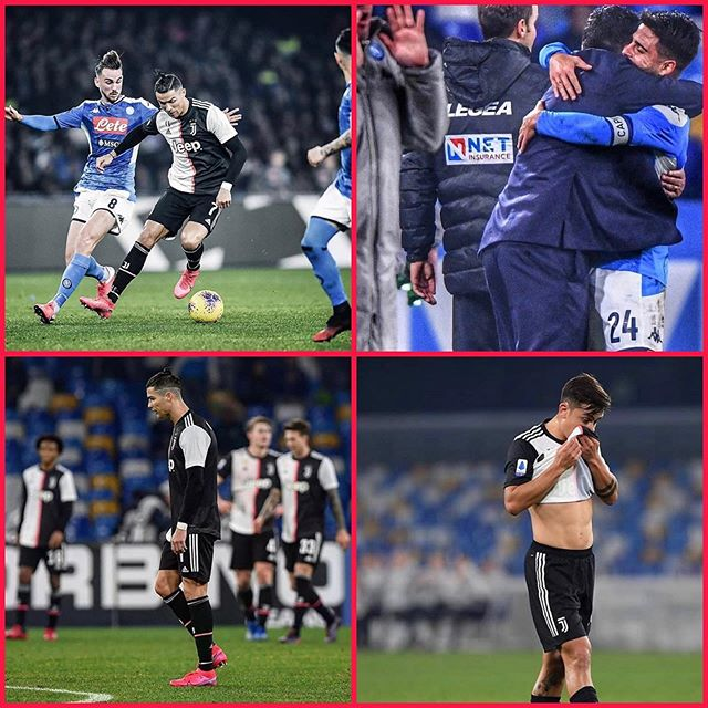 Napoli 2 Juventus 1. We lacked bite and drive and a Schezny error allowed Napoli to secure victory in Naples. We could have gone 6 clear and now a tough tie against Fiorentina awaits. The scuddetto is still wide Open. Forza Juve. Time to wake Up