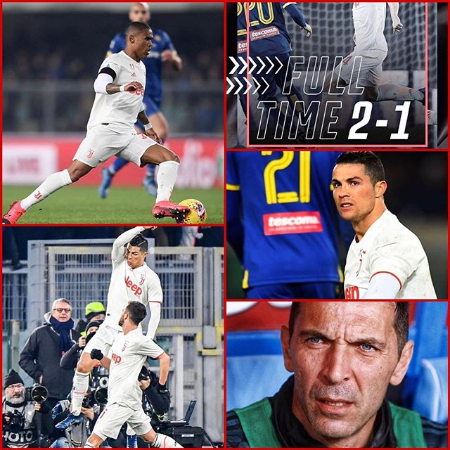 Verona 2 Juventus 1. Last night we self destructed at the Stadio Bentagodi. A brilliant Solo effort by Ronaldo gave Juve the lead. Then a Bentancur and Pjanic error and Borini punished us. And then stupid handball by Bonucci. Uncalled for and Verona slotted the penalty away with 4 mins to go. Where is the Sari Ball. If Inter win the San Siro derby and Lazio beat Parma the 3 point lead is gone #ForzaJuve We must wake up now#juventus #juventusvsverona #cr7 #ronaldo #juvefans #seriea #stadiobentegodi