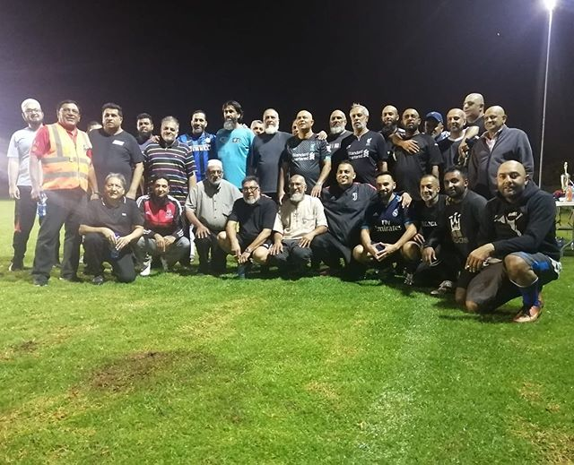 """In style and finesse the Alipor Tymas won the game. Some big names here. Top evening despite the weather. Top chows also""""We don't eat to live. We live to eat"""". Well done to the litys. But most of them will know who are their Dadas"""""""