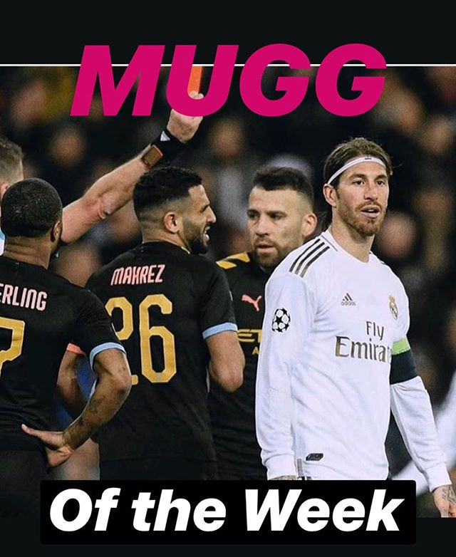 Sergio Ramos is our MUGG of the week because Mamadashee from RCS said so. Is Ramos plain dirty? A great Centre back? Does football need defenders like this?I remember when I was a Lity and made transition to the big team. Played upfront in same time as my oom Zahier Mayet. So was pressure. The Centre back kept tramping my toes and telling me he is going to break my legs. I went to complain to the Oom. Thinking he will stand up for me. He told the Centre back. Keep doing it. Toughen this Lity up. No time for crying. Play the game. I was ?. I remember also World Cup qualifier, Italy vs England. Shearer was marked the entire game by Ciro Ferrara. After the game Shearer was scratched and bruised. Even Chiellini and them, They f@&$ the owes up in style and on time #ramos #sergioramos #ramosredcard