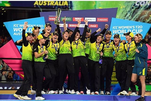 Congratulations to the Aussie birds on winning their 5th T20 World Cup. They beat India