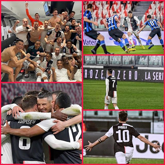 Great win last night behind close doors in the Derby D Italia encounter between Juve and Inter in Turin. Ramsey our Juve in the lead and Dybala scores a sensational second. This was a worthy Juve performance. It was kinda surreal playing behind closed doors and you could hear the players especially during set pieces and corners. There's a lot of uncertainty because of the Corona virus and Serie A. For now Forza Juve we prepare match by match