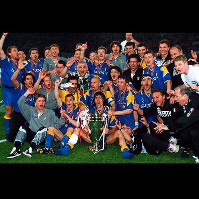 On this day.May 22nd 1996. Forza Juve