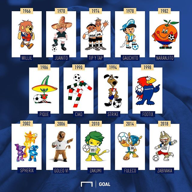 Which Mascot do you like the best. For me it's defiantly Pique,CIAO and Zakimi. The first two because of childhood memories and Italia 90 being the first World Cup shown on TV. As for Zakumi. Well that's obvious ?