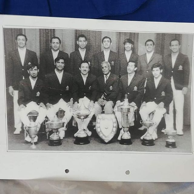 National Cricket Champions 1966/67——————————————Four Brothers in one team.Essop, Abdul, Ismail and Ebrahim Bhamjee @mohamed.bhamjee#0018legendsproject