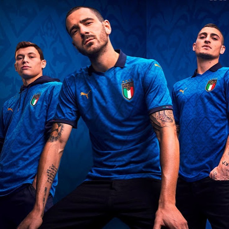 Launch of Italy kits were always something Wonderful. Especially in the Kappa days. This is the answer Italy home Jersey. Your thoughts?