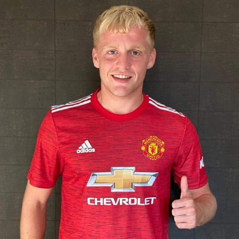 The MANCS sign Donnie Van De Beek. From starring in the movie SPUD to scoring against Juve and now joining the MANCS. What do the MANCS have to say about the signing