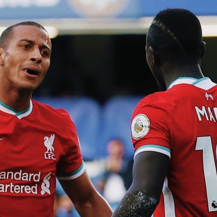 """These 2 were class. Mane was MOTM and Lampard looked grumpy. Keppa sold Chelsea again. Alcantra is a clussss signing. Liverpool punished the Chelsea mistakes. Charagher was even saying that Mane could be a bigger Legend than Liverpool's best ever left side sided player """"Digger Barnes"""". Spurs ran riot with a Kayne and Son show. COYS. Well done Patson and them"""