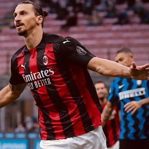 Bozza of the Week. Zlatan Ibrahimovic potting twice to put AC Milan at the summit of Serie A in the San Siro Derby. At 38 Watta Bozza