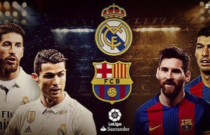 El Classico Today. What are your predictions?. Predict the Score and Win a Mini Ball and Figurine. Well done to our last Prediction winner @rizwaangani We will be in touch. Go for it