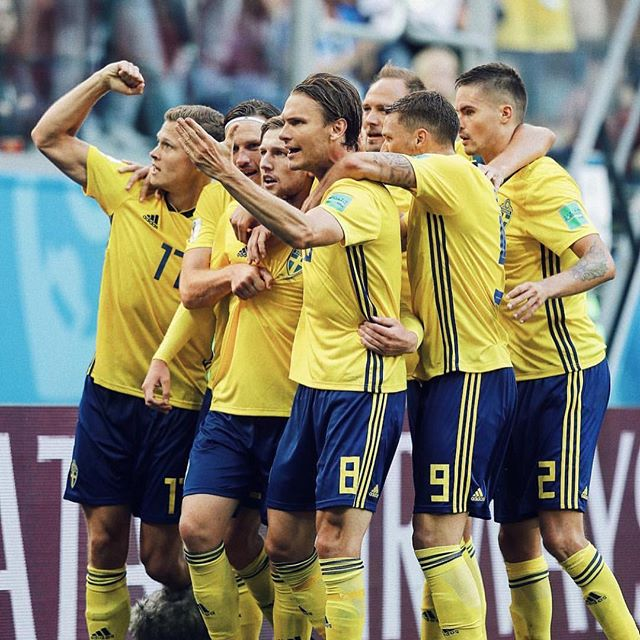 And the consistent Swedes advance to the quarter final with a 1 nil win over Switzerland