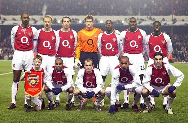 "How good was this Team? Arsenal ""The Invincibles"" #legendsthatshooktheblogI remember watching the commentary on ESPN, Juve or Madrid game. Tommy Smith with a Y. Pronounciation like Bufown, and Sholes. Then u switch to e-TV and watch Arsenal on Counter. The Uk  commentary. Bergamp, Viera, Ljunberg to Henry.....PIRES......1-0 tp Arsenal at Highbury"