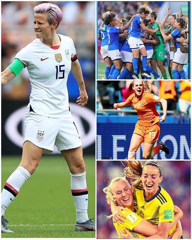 The Azurri and the Dutch Birds meet in the quarter finals. Last night USA and Sweden triumphed. It's down to the quarters. Who are the FavouritesFrance vs USA England ??????? vs Norway ?? Italy vs Netherlands ?? Germany vs Sweden ?? #womensworldcup #womensworldcup2019 #womenssoccer #italyvsnetherlands #swedenvsgermany #francevsusa #englandvsnorway