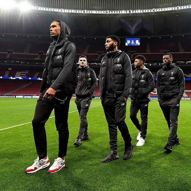Calm before the Storm. Liverpool relax before the tough encounter tonight with Athletico at the Wanda Metropolitano Stadium