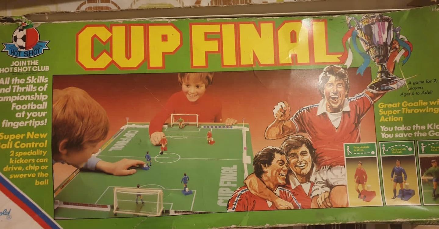 Great find by @moebhamjee123 . What's your fondest memory on this game.