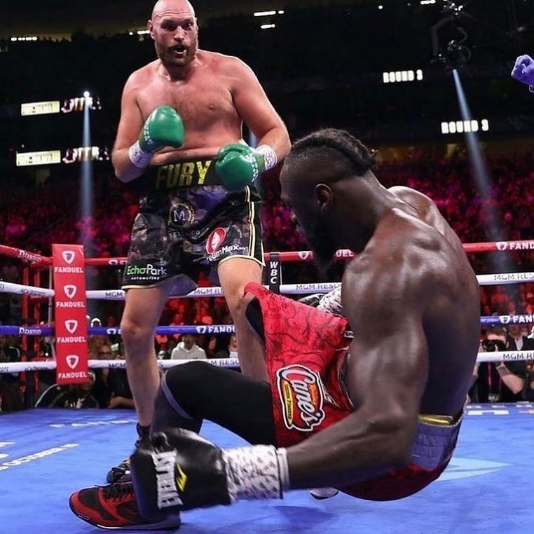 Fury Knocks Wilder out in the 11th Round. Top Fight #furyvswilder #boxing #tysonfury